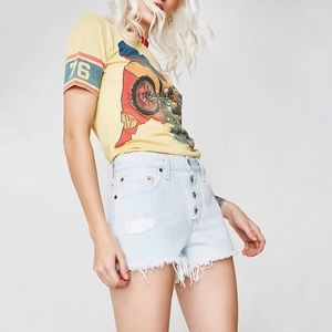 Levi's | NWT 501 Better Love Distressed Jean Short